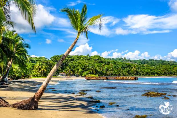 Praia em Puerto Viejo